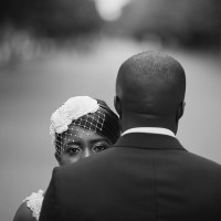 black couple, regents park