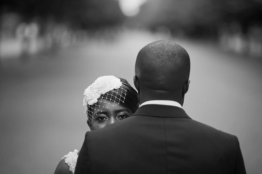 black couple, regents park